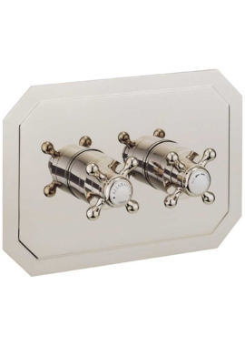 Related Crosswater Belgravia Crosshead Nickel Landscape Thermostatic Valve With 2D