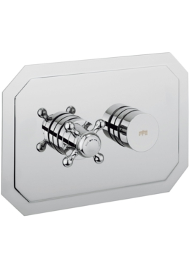 Related Crosswater Dial 1 Control Shower Valve With Belgravia Landscape Trim
