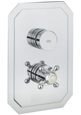 Related Crosswater Dial 1 Control Shower Valve With Belgravia Portrait Trim