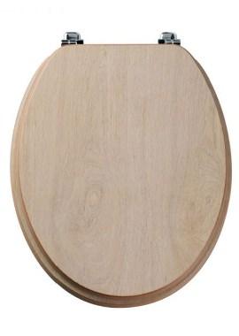 Related Tavistock Millennium Limed Oak Wood Veneer Toilet Seat