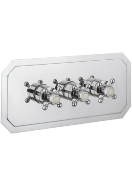 Related Crosswater Belgravia Crosshead Thermostatic Shower Valve 3 Way Diverter