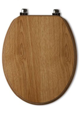 Related Tavistock Millennium Natural Oak Wood Veneer Toilet Seat