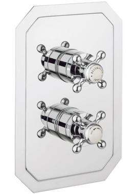 Related Crosswater Belgravia Crosshead Thermostatic Shower Valve With 3 Way Diverter