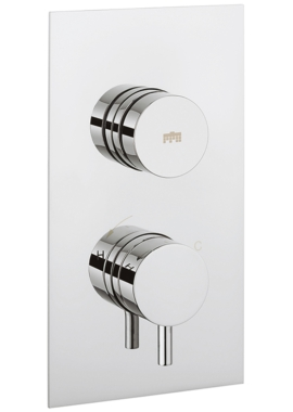 Related Crosswater Dial 1 Control Shower Valve With Kai Lever Portrait Trim
