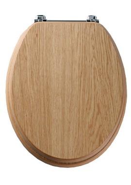 Related Tavistock Premier Natural Oak Wood Veneer Toilet Seat
