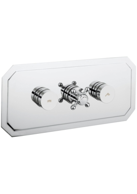 Related Crosswater Dial 2 Control Shower Valve With Belgravia Landscape Trim