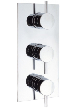 Related Crosswater Elite Thermostatic Shower Valve With 3 Way Diverter