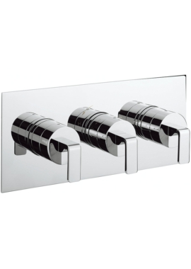 Related Crosswater KH Zero 1 Landscape Thermostatic Valve With 2 Way Diverter