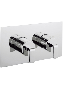 Related Crosswater Kelly Hoppen Zero 1 Thermostatic Valve With 2 Way Diverter