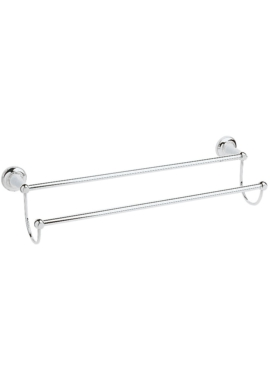 Related Heritage Clifton Double Towel Rail Chrome