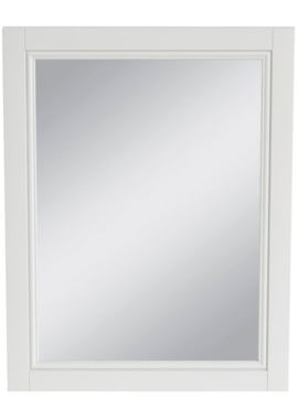 Related Heritage Caversham White Ash 500mm Furniture Mirror
