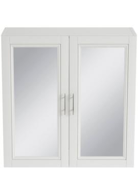 Related Heritage Caversham White Ash 640mm Mirror Wall Cabinet
