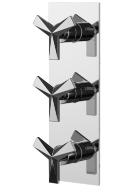 Related Heritage Hemsby Recessed Thermostatic Shower Valve With Twin Stopcocks