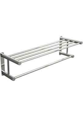 Related Miller Classic 620mm Towel Rack With Rail