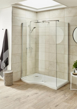 Related Beo 1400 x 906mm Walk In Left Hand Shower Tray