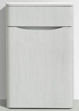 Related Bali White Ash 500 Back To Wall WC Unit