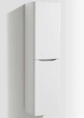 Related Bali White Ash Wall Mounted Tall Storage Cabinet 400 x 1500mm