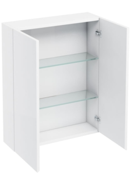 Related Aqua Cabinets White 600mm Double Door Wall Mounted Cabinet