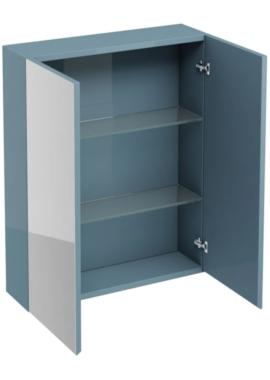 Related Aqua Cabinets Ocean 600mm Double Mirrored Door Wall Cabinet