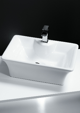 Related Cassellie 1 Tap Hole Counter Top Basin 490 x 385mm