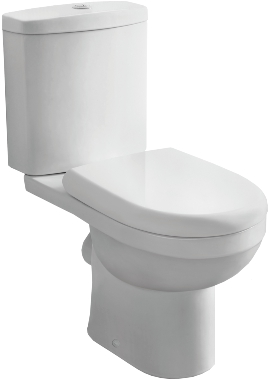 Related Ivo D Shaped Closed Coupled Pan And Cistern With Soft Close Seat