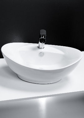 Related Cassellie Oval Counter Top Basin 600 x 390mm