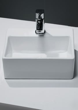 Related Cassellie 1 Tap Hole Small Clockroom Basin 330 x 290mm