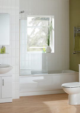 Related Beo Gem 1700mm x 700mm Bathroom Suite With Coast Bath