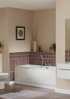 Related Beo Pearl White Bathroom Suite