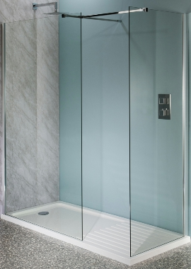 Related Montage 10mm Wetroom Shower Panel 760mm