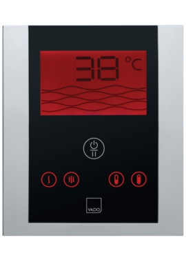 Related Vado Identity Thermostatic Shower Valve With Digital Control Panel