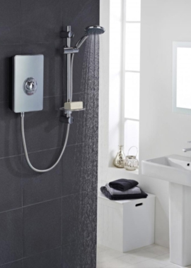 Related Vado Elegance Metallic And Chrome Electric Shower 8.5kW