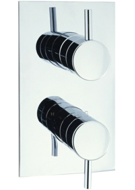 Related Adora Fusion Portrait Thermostatic Shower Valve With 2 Way Diverter