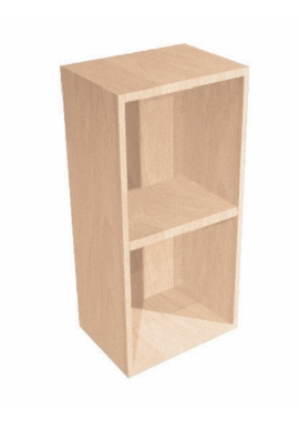 Related Noble Fitted Natural Oak 300mm Open Shelf Wall Unit