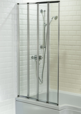 Related Cassellie 4 Fold Bath Screen
