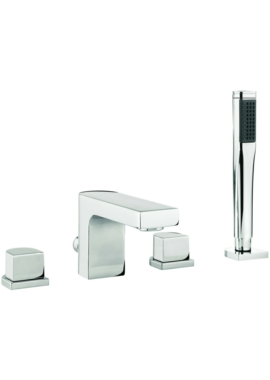 Related Adora Planet 4 Hole Deck Mounted Bath Shower Mixer Tap With Kit
