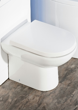 Related Rothwell D Shape Back To Wall WC Pan