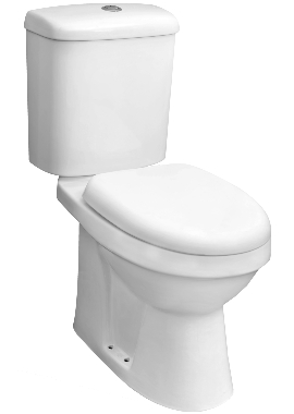 Related Listra Comfort Height Close Coupled Pan And Cistern With Soft Close Seat