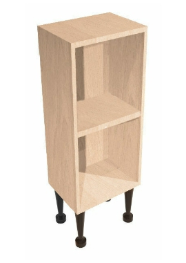 Related Noble Fitted Natural Oak 200mm Open Shelf Reduced Depth Base Unit