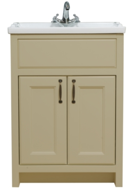 Related Chartwell Mocha 610mm Double Door Vanity Unit And Basin
