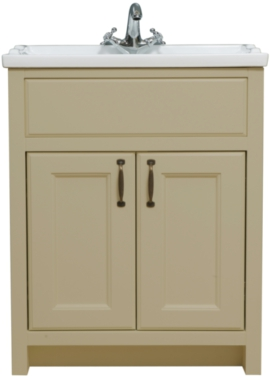 Related Chartwell Mocha 810mm Double Door Vanity Unit And Basin