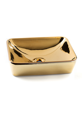 Related Dune Lavabo Marvel Gold 500 x 380mm Basin