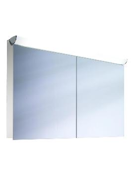 Related Schneider FaceLine Double Door Mirror Cabinet 1000mm