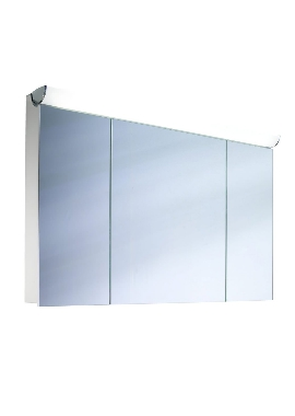Related Schneider FaceLine 3 Door Mirror Cabinet 1200mm