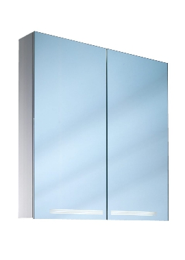 Related Schneider Graceline Double Door Mirror Cabinet 700mm