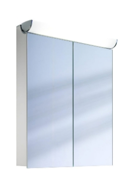 Related Schneider FaceLine Double Door Mirror Cabinet 700mm