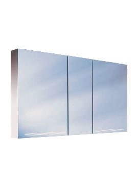 Related Schneider Graceline 3 Door 1300mm Mirror Cabinet With LED