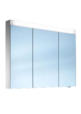 Related Schneider Pataline 1300mm 3 Door Mirror Cabinet - Door Widths 50/30/50cm