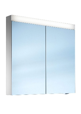 Related Schneider Pataline 800mm 2 Door Mirror Cabinet With LED Light