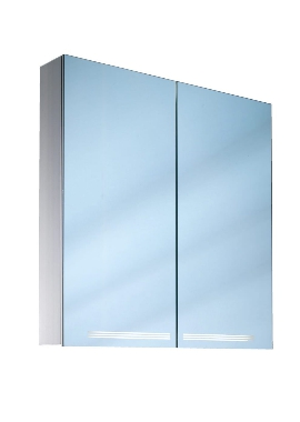 Related Schneider Graceline 2 Door 700mm Mirror Cabinet With LED